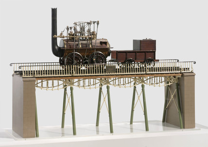 Model of Gaunless Bridge with the Rocket, 1824.