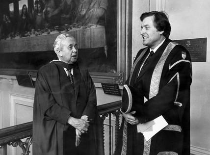Harold Wilson, April 1977.