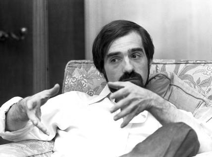 Martin Scorsese, American film director, November 1977.