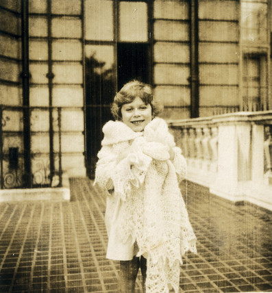 Princess Elizabeth as a child, 1929-1930.