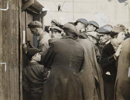 Gresford mining disaster, September 1934.