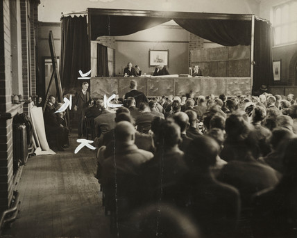 William Bosnell at the Prosecution hearing, 26 Oct 1934.