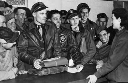 American airmen, 1 June 1945.