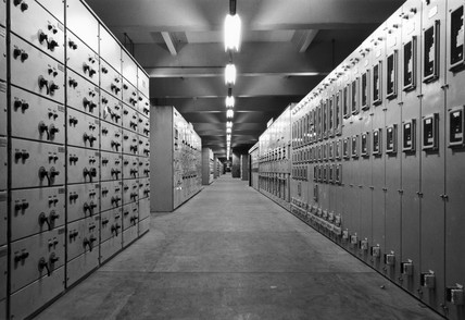Longannet Boiler switchgear annex, 1971.
