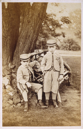 Two boys, late 19th-early 20th century.