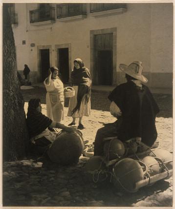 'Conversation', c 1940.
