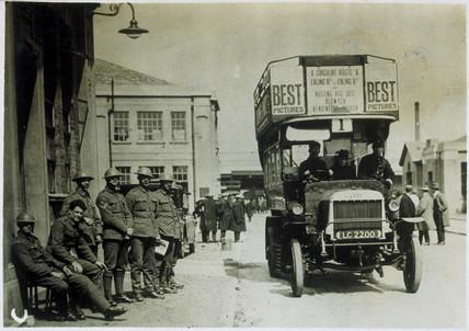 London bus, 1926.