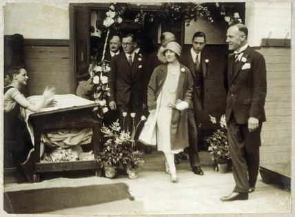 Royal visit, 1928.