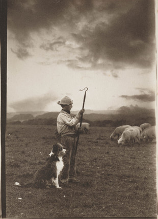 'The Young Shepherd and his Dog', c  1888.