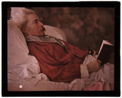 Mark Twain, 1908.