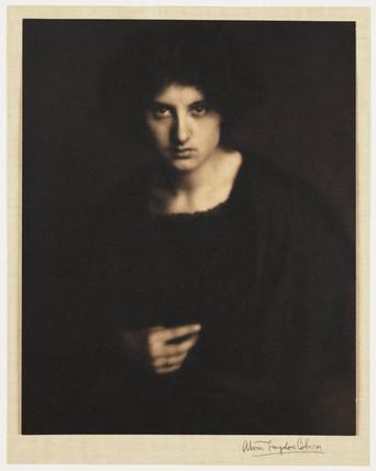 Portrait of a woman, c 1905.
