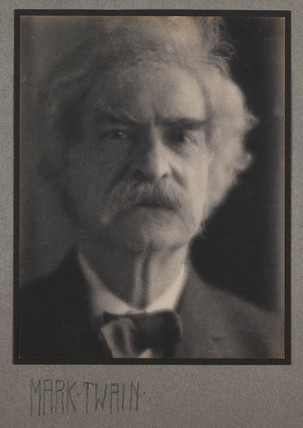 'Mark Twain', 1905.
