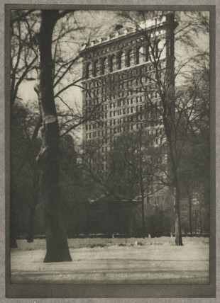 'The Flat-Iron', c 1910.