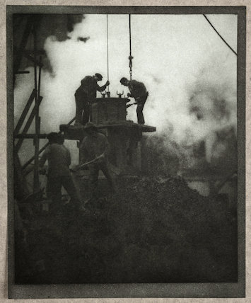'The Tunnel-Builders', c 1910.