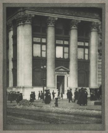 'The Knickerbocker Trust Company', New York, c 1910.