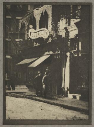 'The Chinese Quarter', New York, c 1910.