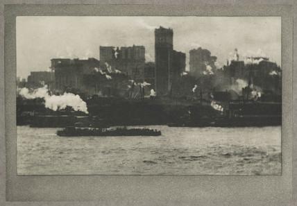 'The Sky-line', New York, c 1910.