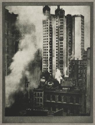 'The Park Row Building', New York, c 1910.