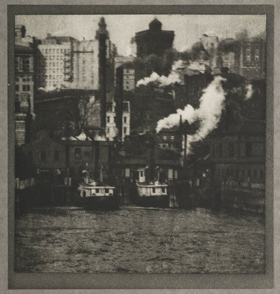 'The Battery', New York, c 1910.