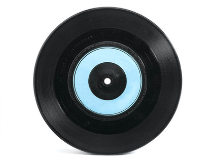 Vinyl 45 rpm record, 1983.