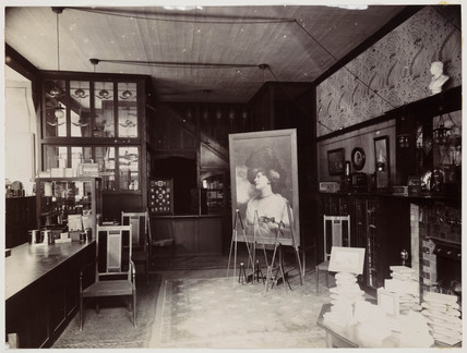 Kodak shop interior, c 1905.
