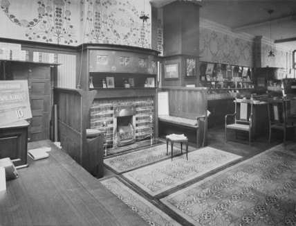 Kodak shop interior, c 1900.