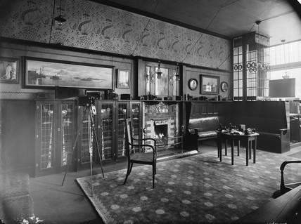 Kodak showroom interior, 1900.