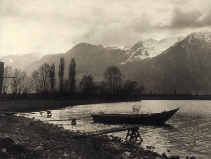 Lake of Geneva, c 1934.