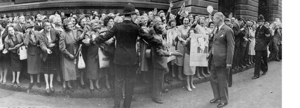 Harold Macmillan, British prime minister, October 1959.