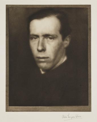 'Sir William Orpen. Painter', 1908.