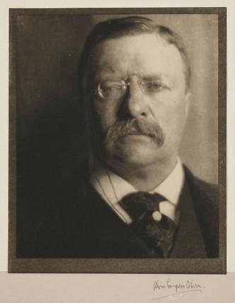'Theodore Roosevelt, President USA', 1907.