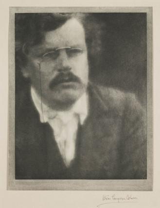 'G K Chesterton', 1913.