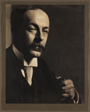 'W L F Wastell. Hon. FRPS. President 1922', c 1906.