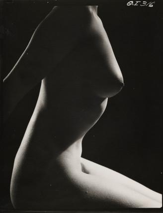 Female nude, 1960s.
