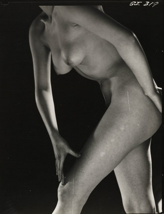 Female nude, 1960s.