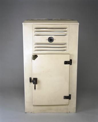 Zeros ammonia absorption domestic refrigerator, c 1938.