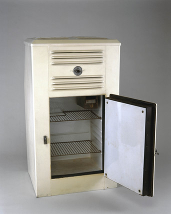 Zeros ammonia absorption domestic refrigerator, c 1938.