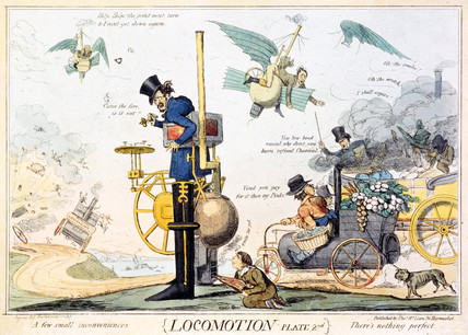 'Locomotion Plate 2nd', c 1835.