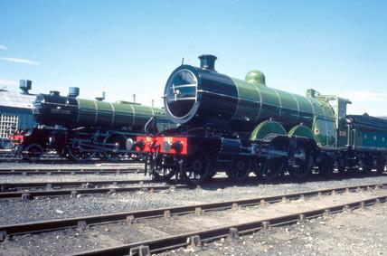 GNR 4-4-2 steam locomotive, No.251, 1902. T