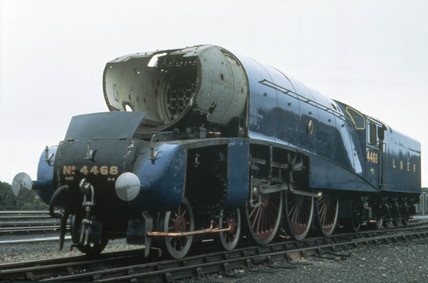 'The Mallard', London & North Eastern Railway locomotive No 4468, 1938.