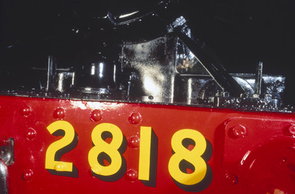 GWR 2-8-0 steam locomotive, No.2818, 1905.