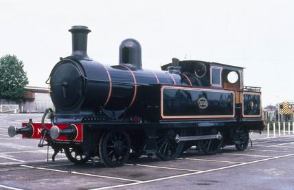 2-4-2T steam tank locomotive, No.1008, 1889