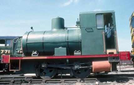 Fireles steam locomotive, 0-4-0F, No.1, 19