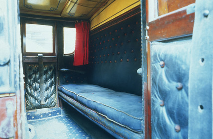 Stockton and Darlington Railway coach, 1825.