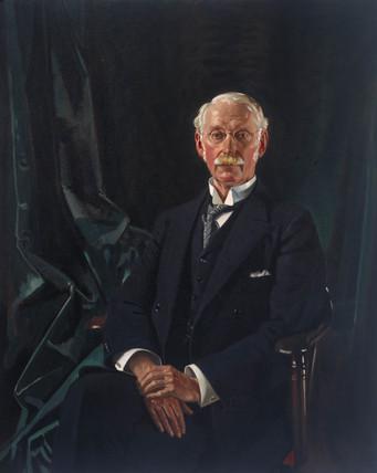 Sir Charles Algernon Parsons, Irish engineer, 1921.