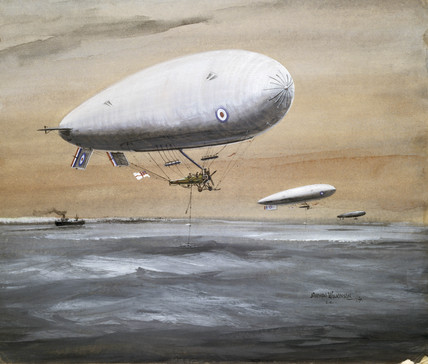'Submarine Sounding: Dover Patrol', 1917.