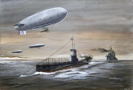 'Dover Patrol', 1918.