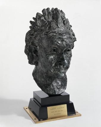 Albert Einstein, German mathematical physicist, 1933.