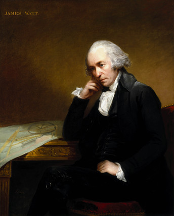 James Watt, Scottish engineer, 1792.