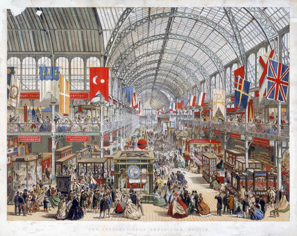 Dublin International Exhibition, 1865.